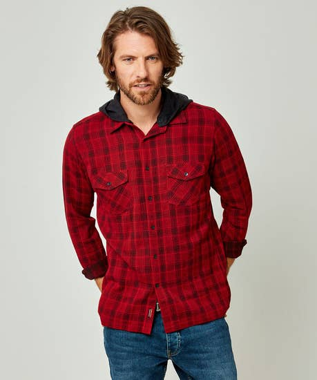 Easy Going Check Shirt