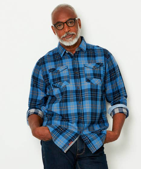 Cool And Confident Check Shirt
