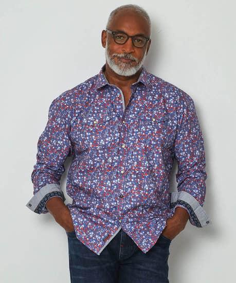 Floral Western Shirt