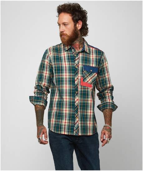 Cracking Combination Shirt