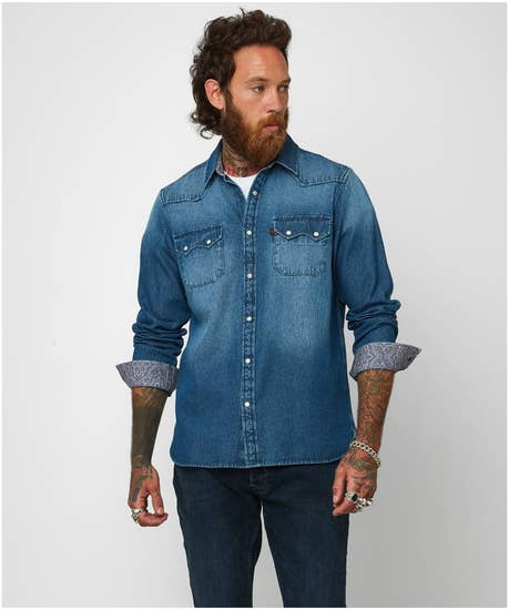 Loved And Lived In Denim Shirt