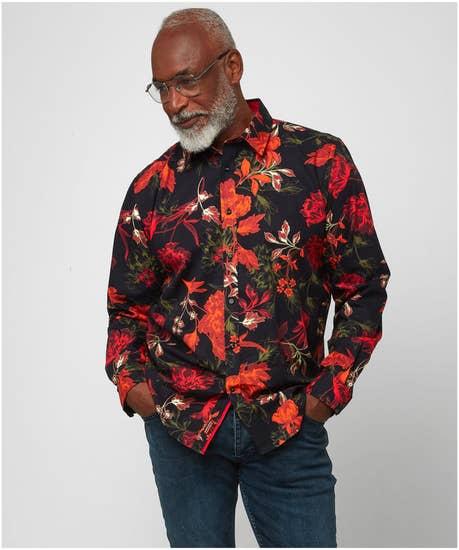 Rich Floral Shirt