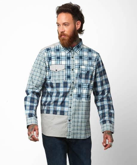 Cut About Check Shirt