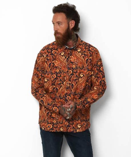 Luscious Luxe Paisley Shirt