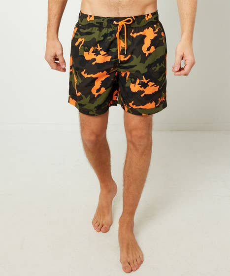 Cool Camo Swim Shorts