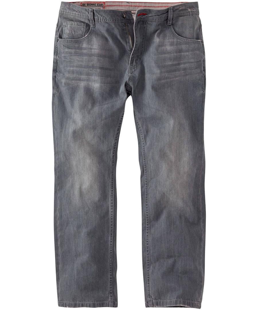 Straight Joe Jeans Model Front