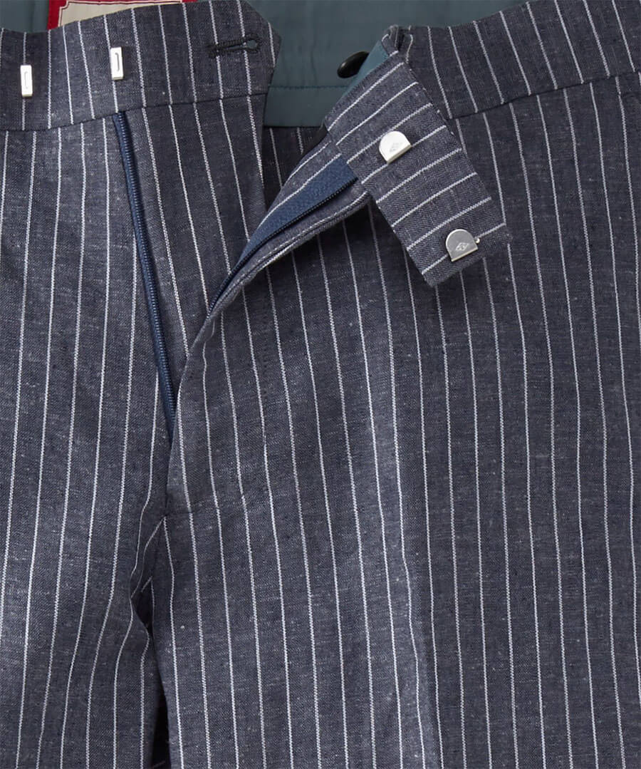 Perfect Pinstripe Trousers Back
