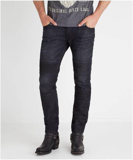 Burnout Biker Jeans
