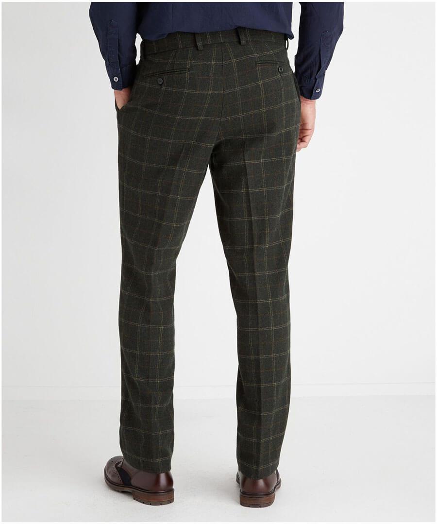 Deadly Dapper Trousers Model Back