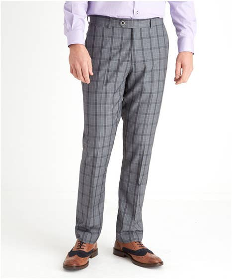 Charming Check Suit Trousers