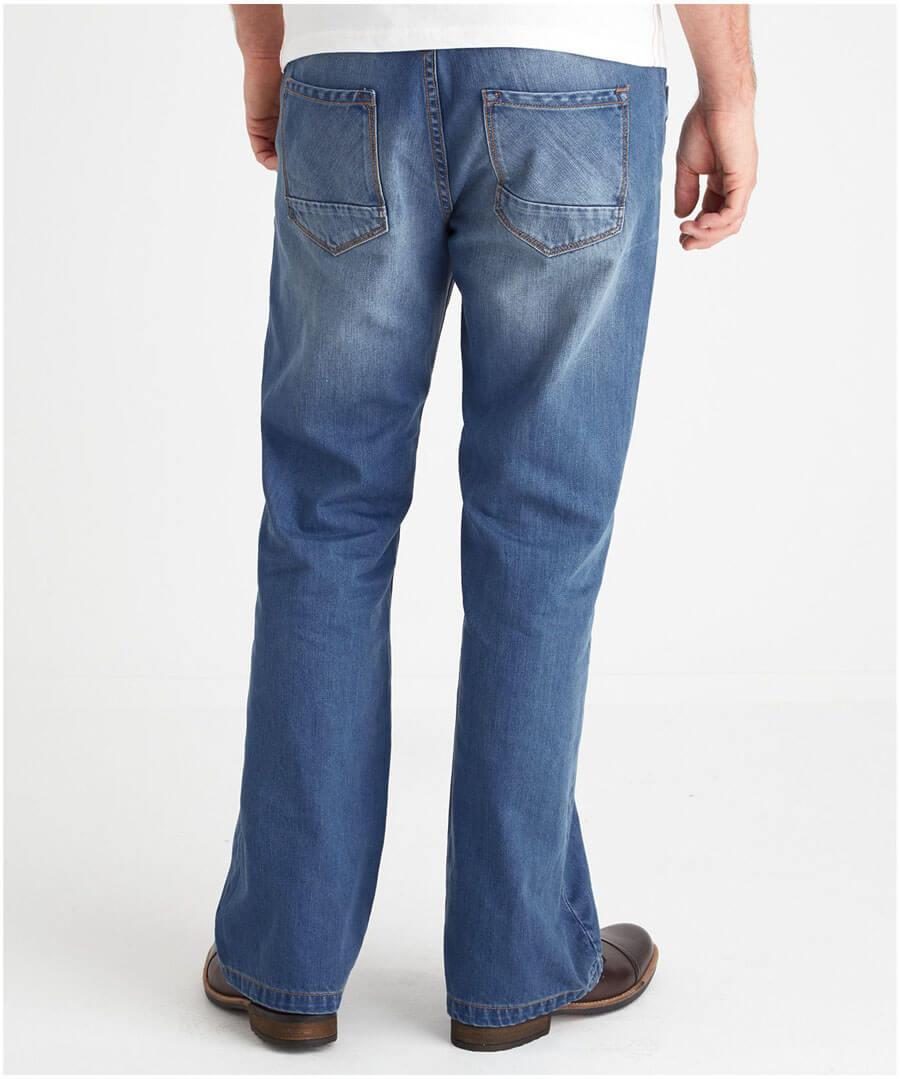 Bootcut Joe Jeans Model Back