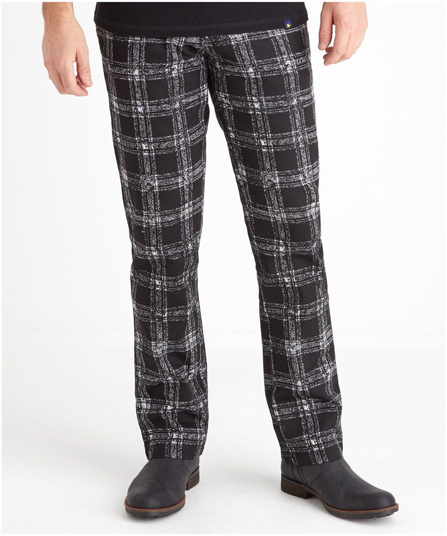 Easy Check Trousers