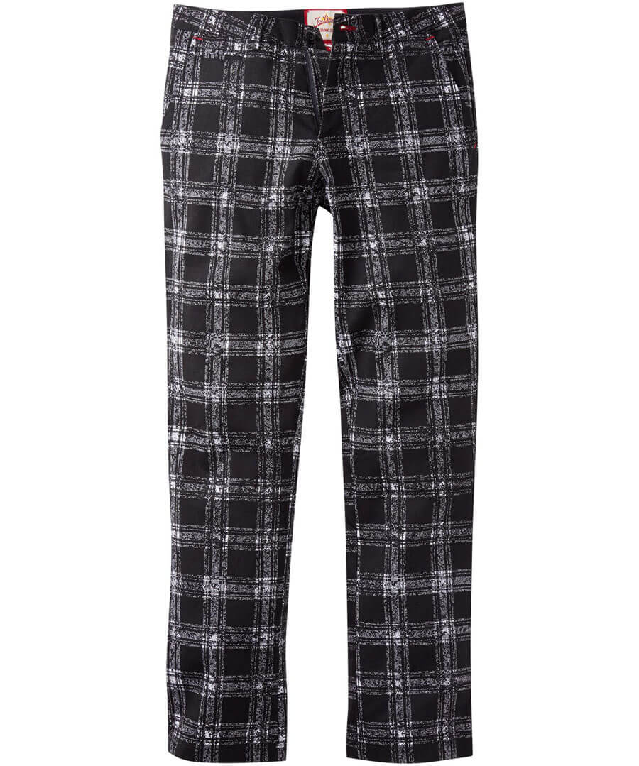 Easy Check Trousers Model Front