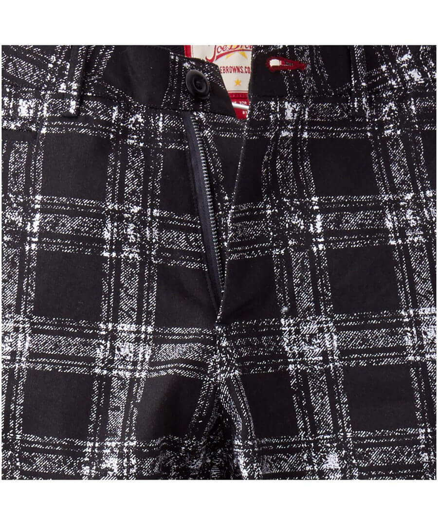 Easy Check Trousers Back