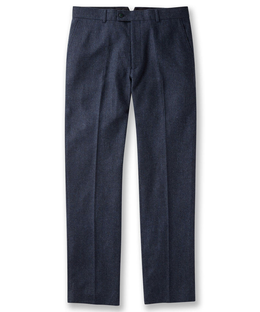 Dapper And Different Trousers Model Front