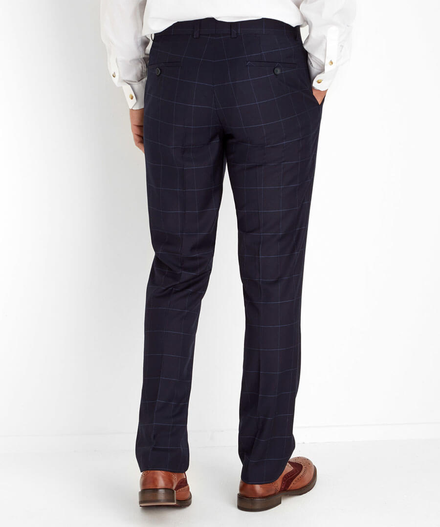Suited To Perfection Trousers Model Back