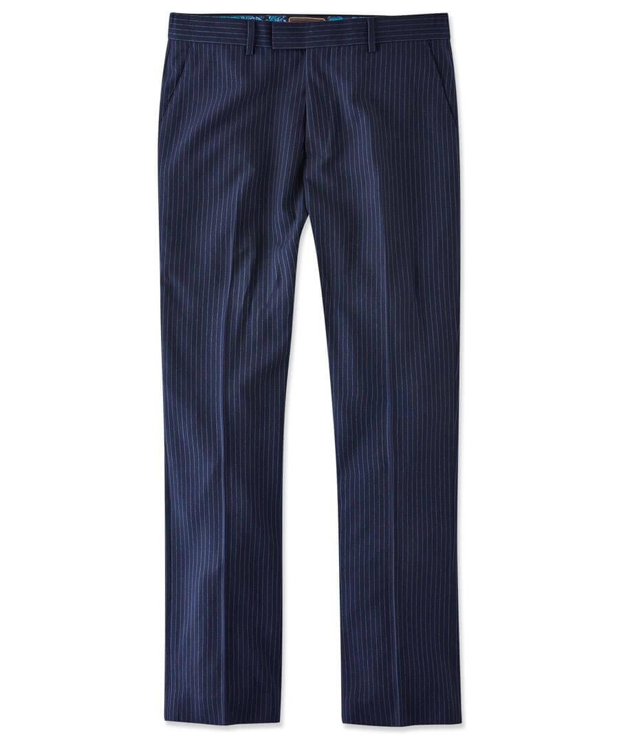 Sensational Stripe Trousers Model Front