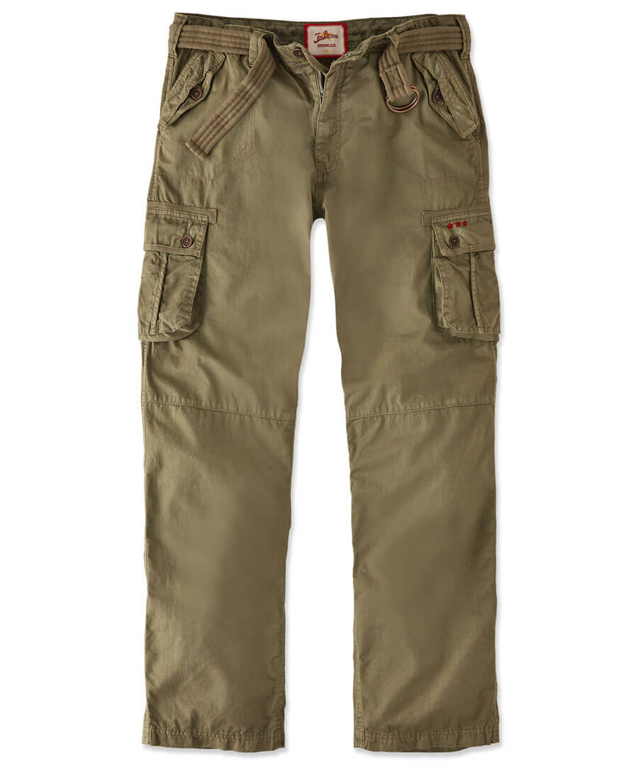 Hit The Action Combat Trousers Model Front