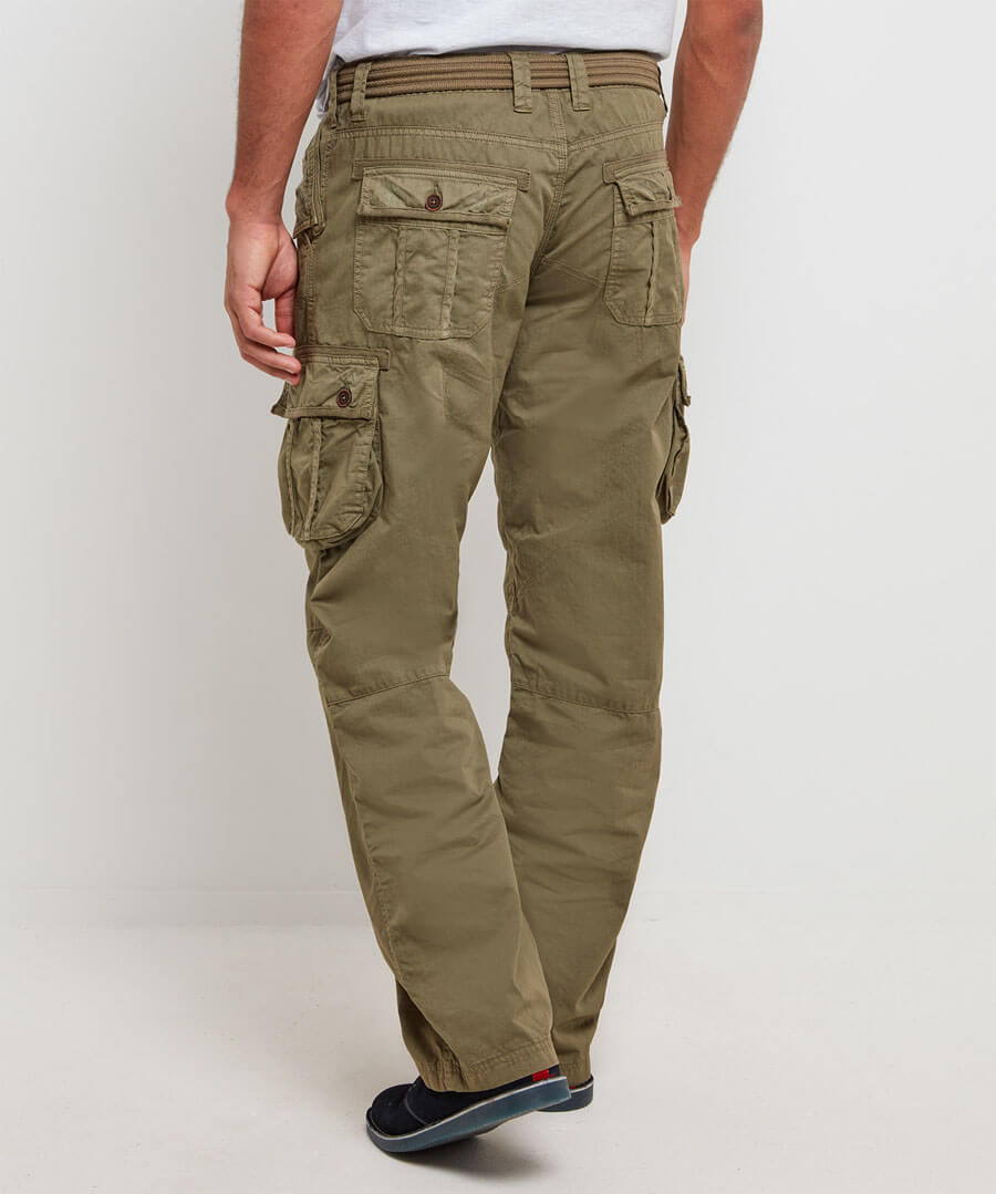 Hit The Action Combat Trousers Model Back