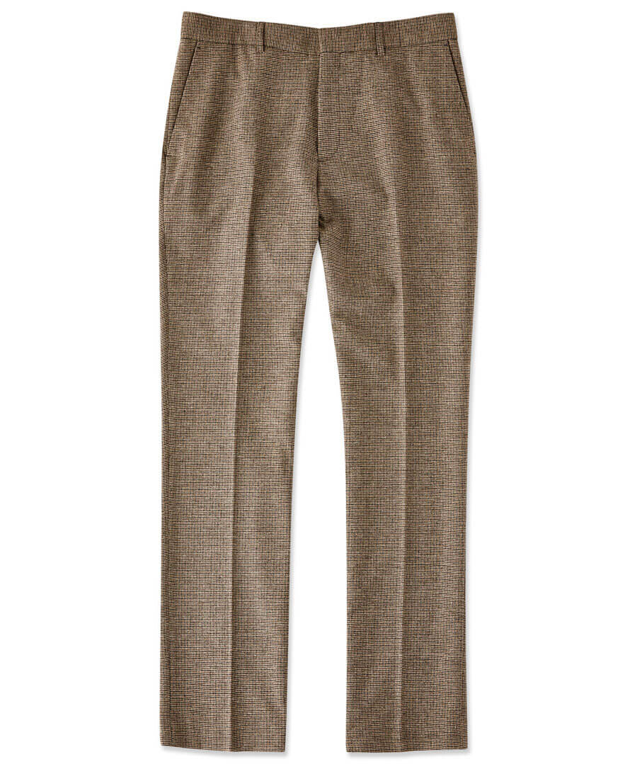 Terrific Tweed Trousers Model Front