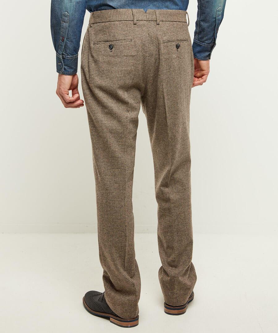 Terrific Tweed Trousers Model Back