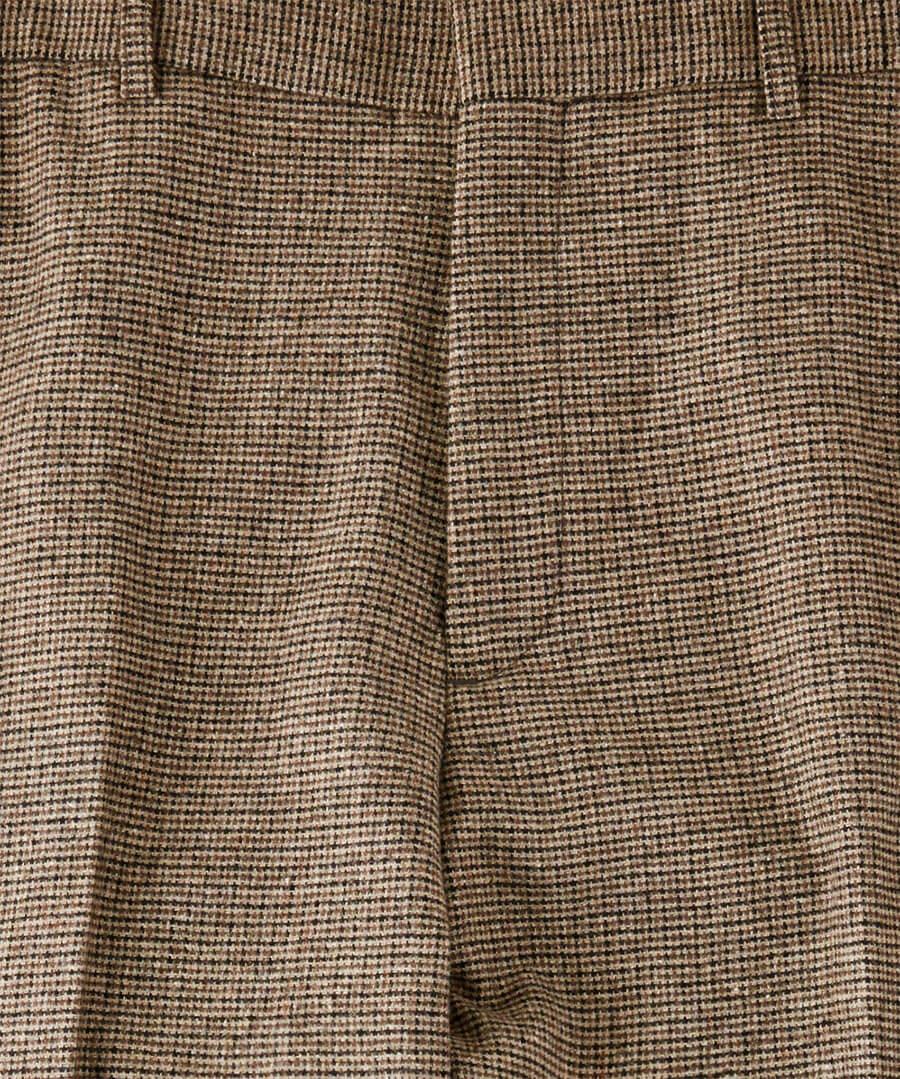 Terrific Tweed Trousers Back