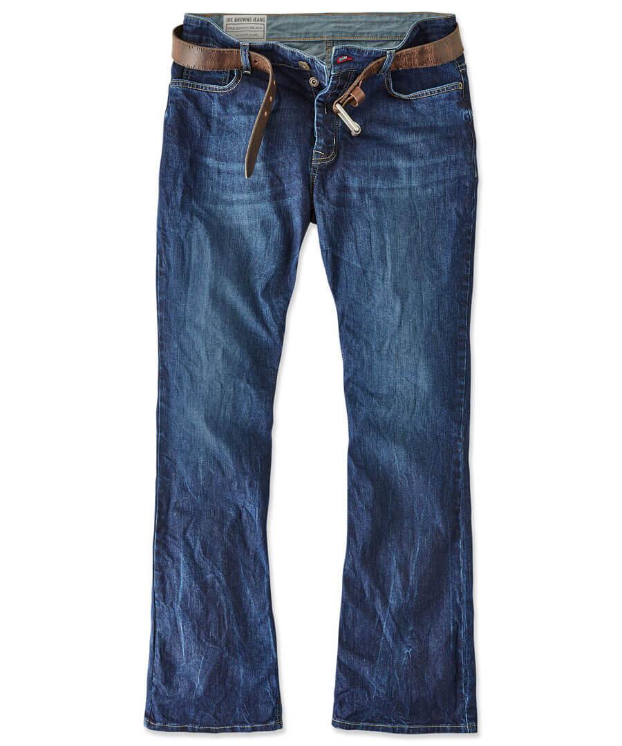 Belting Bootcut Jeans Model Front