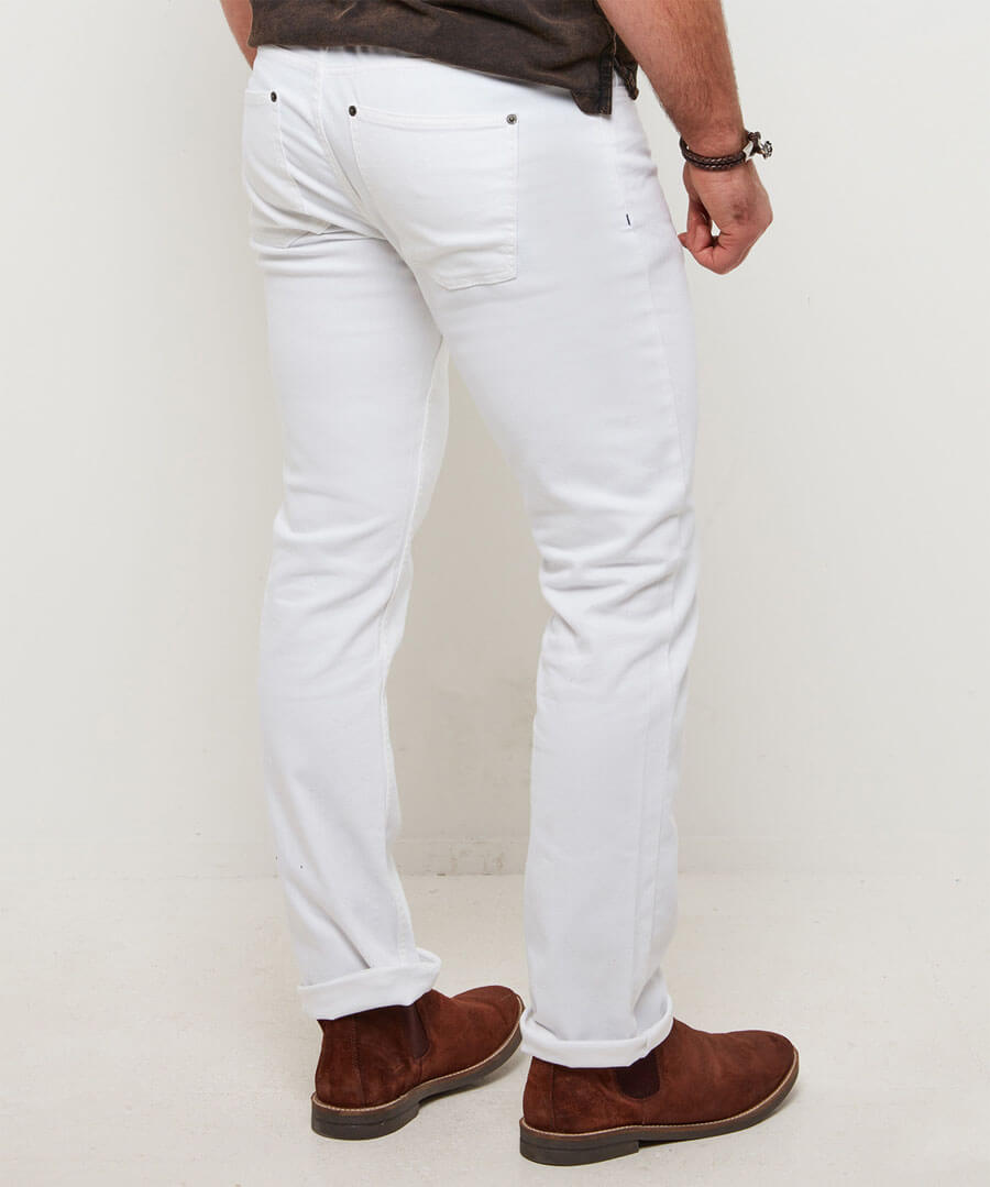 The Classic Jeans Model Back