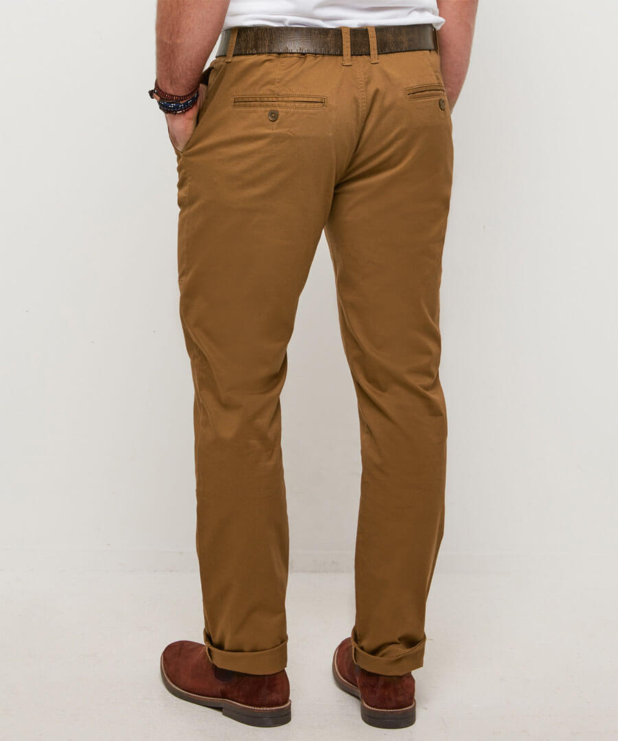 Workwear Chinos Model Back