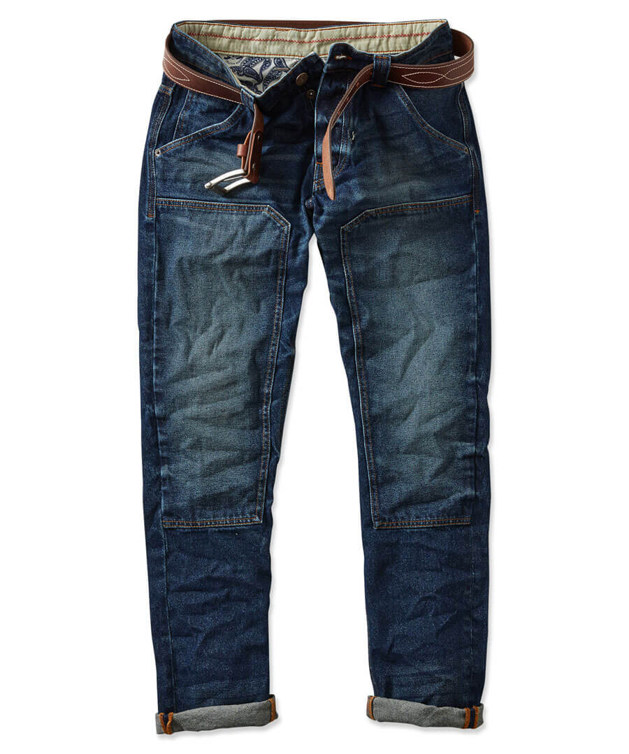 Work Hard Play Hard Jeans Model Front