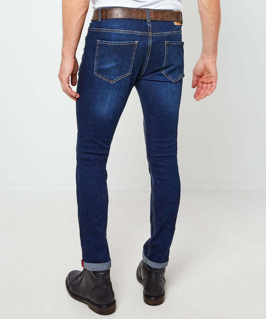 Sensational Skinny Jeans Model Back