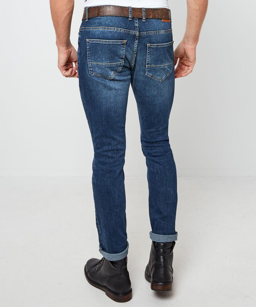 Splendid Slim Jeans Model Back
