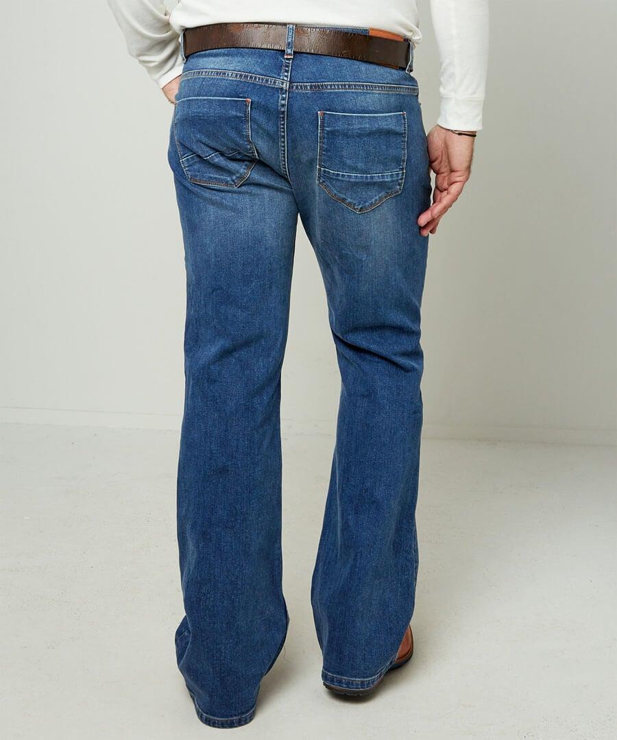 Brilliant Bootcut Jeans Model Back