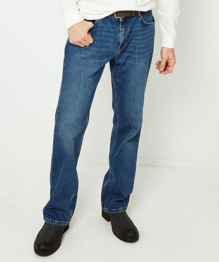 Very Vintage Straight Jeans Model Front