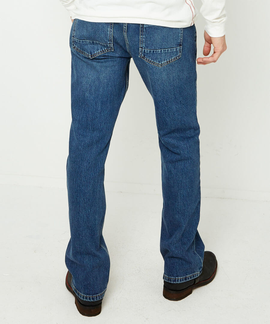 Very Vintage Straight Jeans Model Back