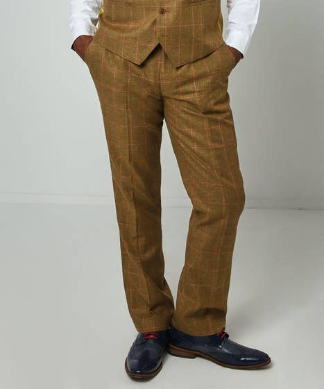 Charming Check Trousers