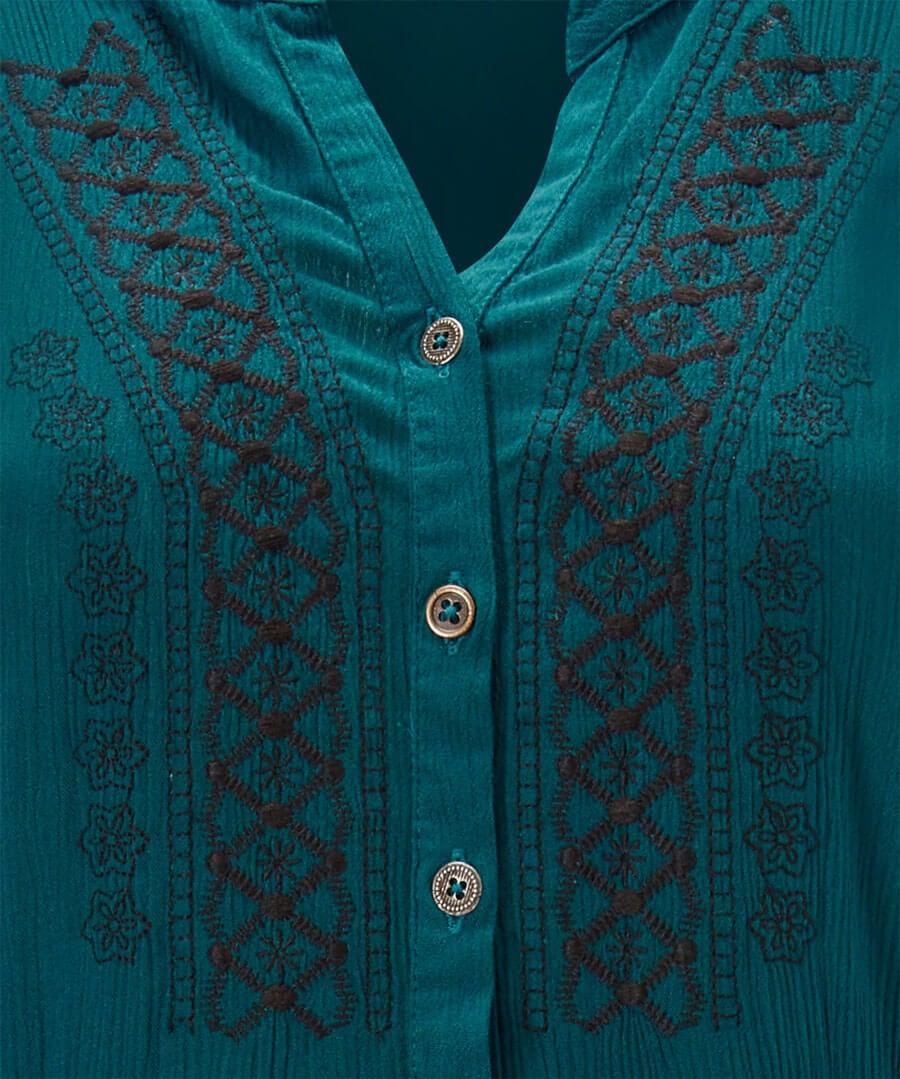 Elegant Hitched Shirt Dress Back