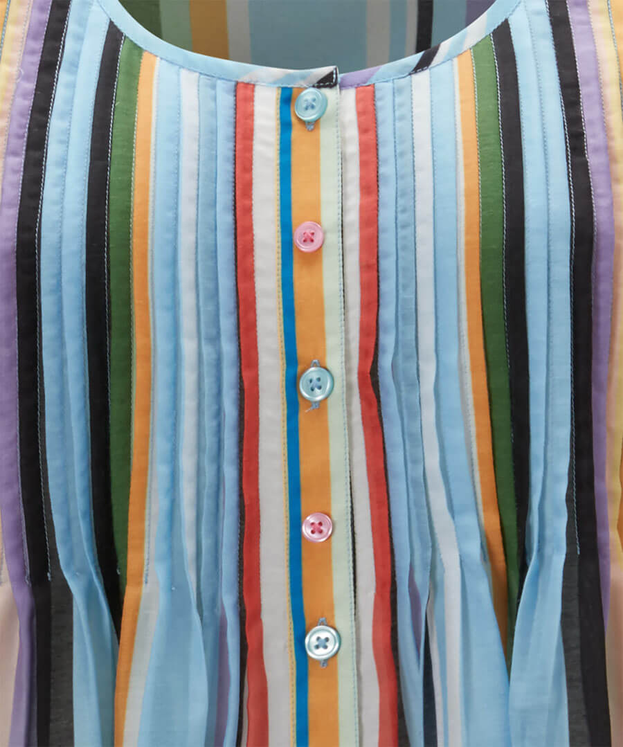 Sequin Rainbow Blouse Back