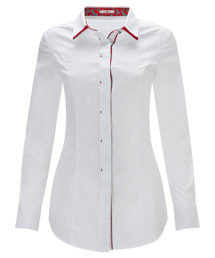 Double Collar Shirt Model Front
