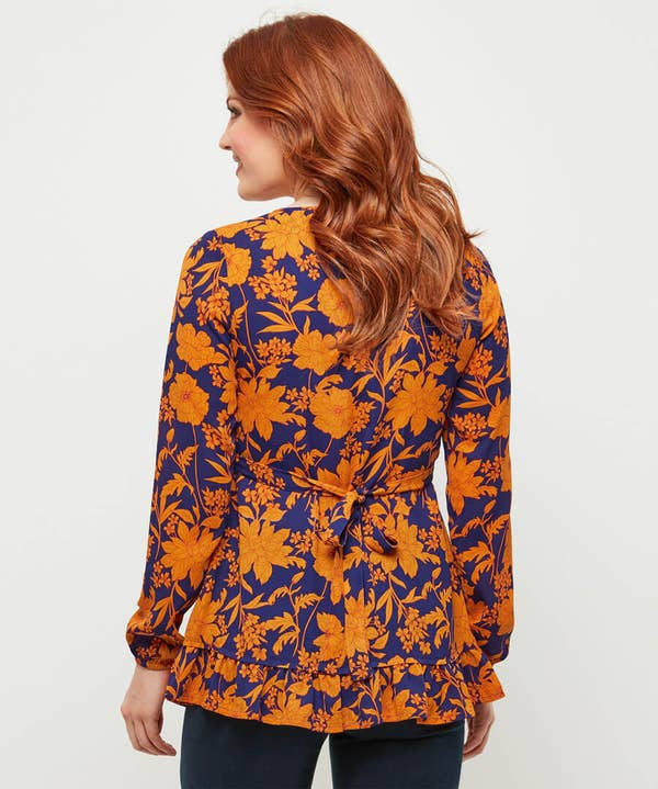 Remarkable Flower Blouse