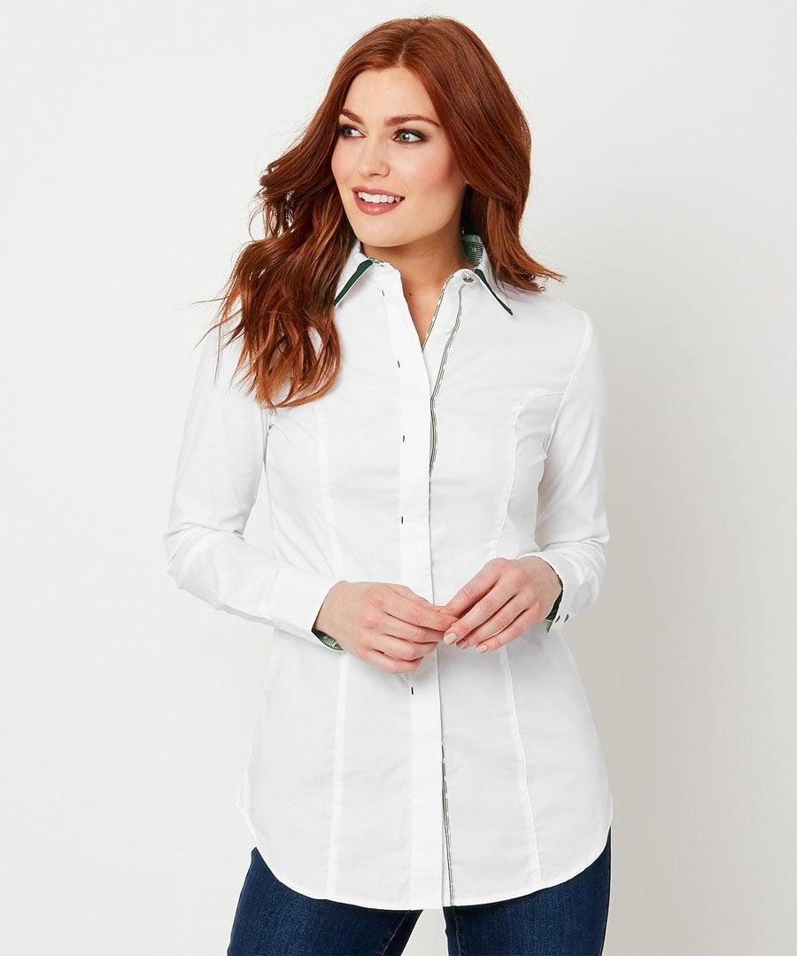 Elegant Shirt Model Front