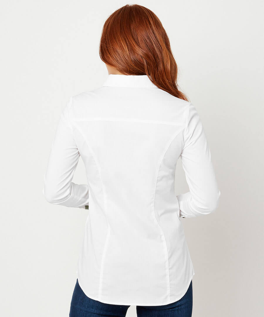 Elegant Shirt Model Back