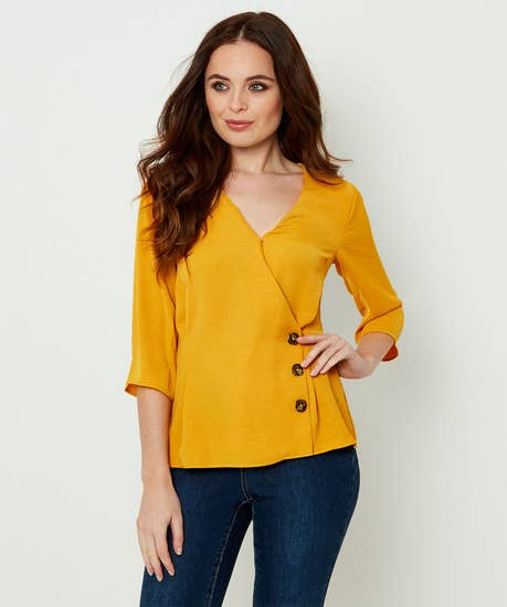 Capsule Collection Wrap Blouse