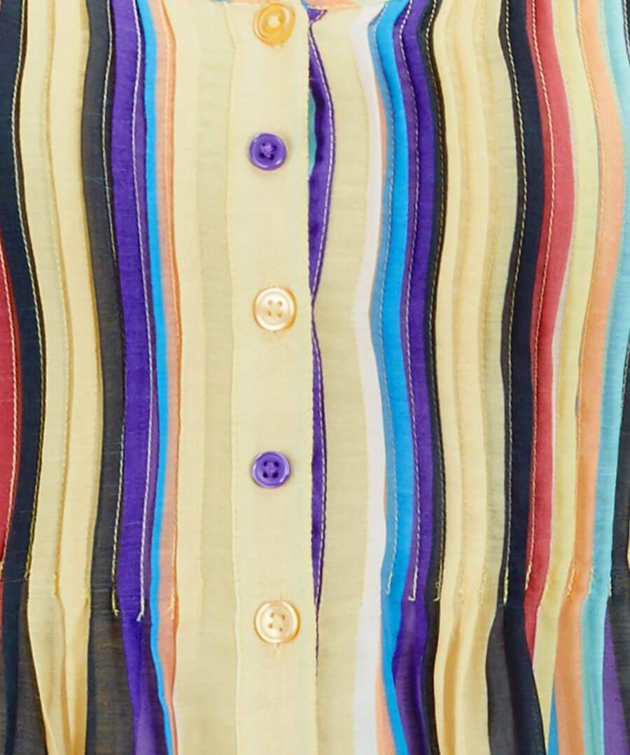 Rainbow Blouse Back