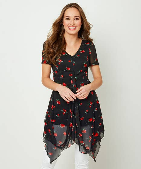 Heavenly Hitched Blouse