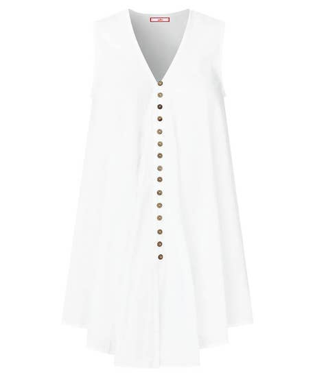 Sultry Sleeveless Blouse