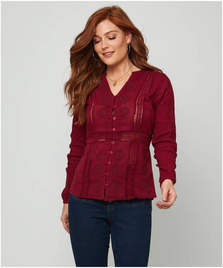 Enchanting Embroidered Blouse