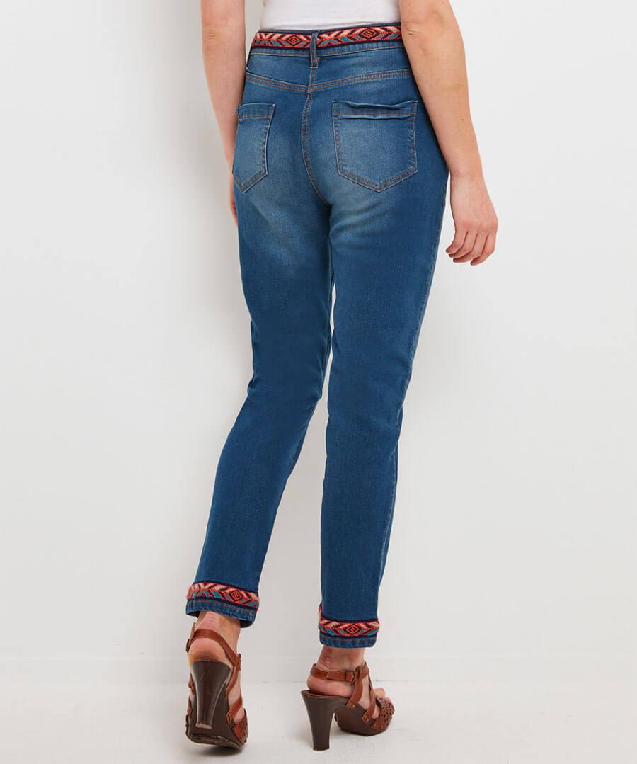 Funky Festival Jeans Model Back