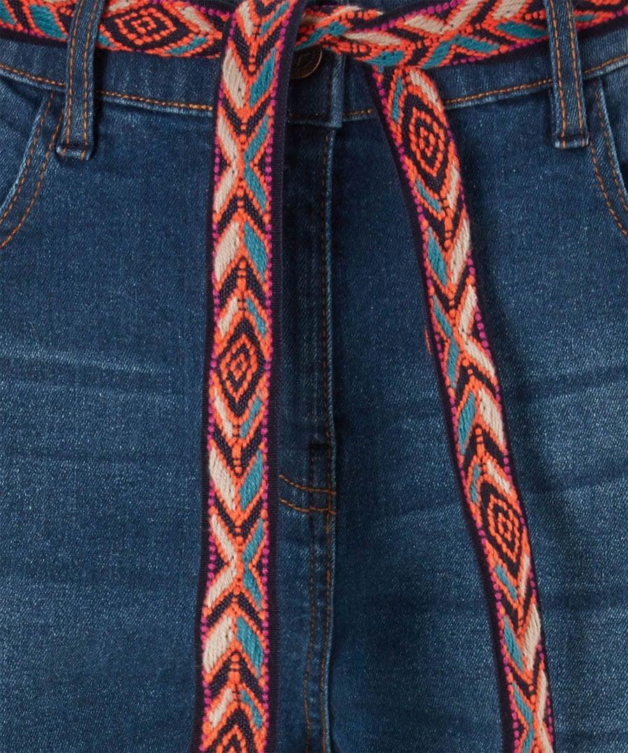 Funky Festival Jeans Back