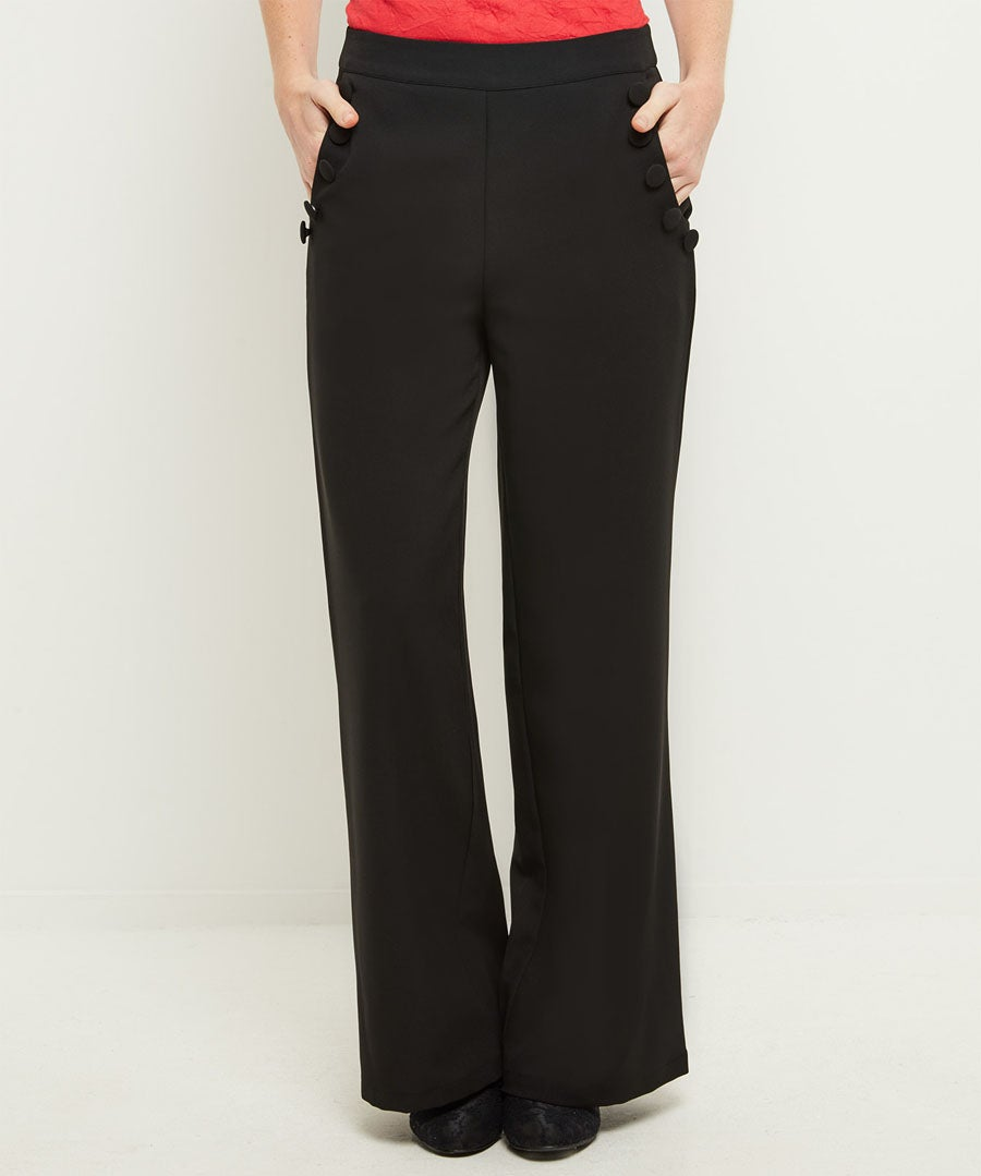 Heathers Wide Leg Trousers